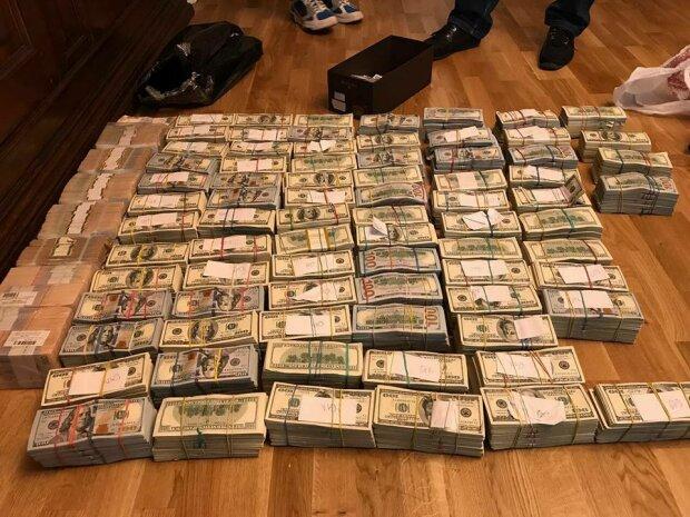 У налоговика нашли почти $4 млн наличкой (фото)