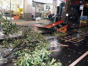 Шанхай, Рубиа, ураган