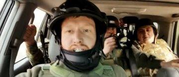 Путинский пропагандист попал под обстрел в Карабахе во время съемок лживого сюжета: кадры эпичного побега