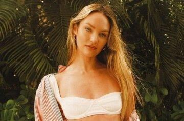"""Ефектний ангел Victoria's Secret Кендіс Свейнпол у вузькому боді змусила чоловіків затамувати подих: """"Культова фотосесія"""""""