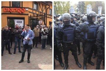 """Одесситы снова бунтуют, на них натравили полицию: """"12 на одного"""": видео безумия"""