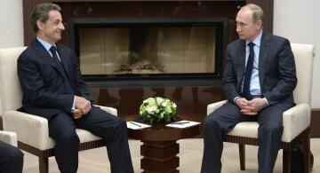Саркози Путин