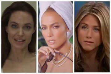 Анджеліна Джолі, Дженніфер Лопес, Еністон та інші зірки, яких визнали найкрасивішими на планеті: топ правдивих фото