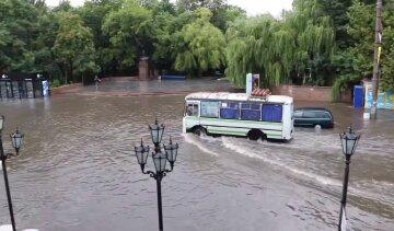 """Украинский курорт ушел под воду: """"Дороги превратились в реки"""", кадры апокалипсиса"""