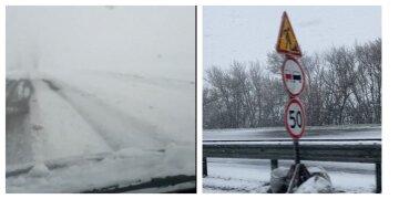 Харків засипає снігом наприкінці квітня: кадри природної аномалії
