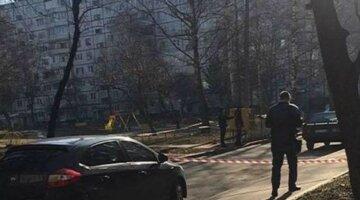 НП у Харкові: поліція оточила двір, кадри з місця подій