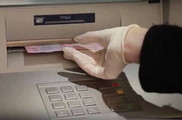 терминал, банкомат, деньги