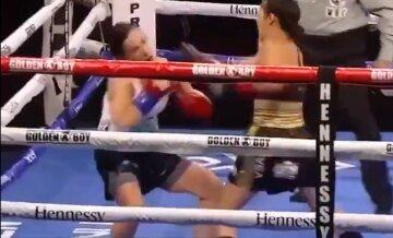 Понадобилось всего 7 секунд: самый быстрый нокаут в женском боксе попал на видео