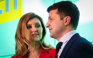 Елена Зеленская, Владимир Зеленский, первая леди