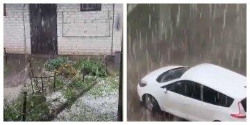 """""""Крижаний дощ"""" обрушився на Україну, деякі міста залишилися без світла: відео"""