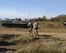 разведение войск, Донбасс