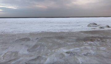 Стихия обрушилась на Украину, море заледенело: кадры чарующих зимних пейзажей