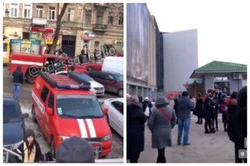 В торговом центре Одессы начался пожар, людей срочно выводят на улицу: видео ЧП