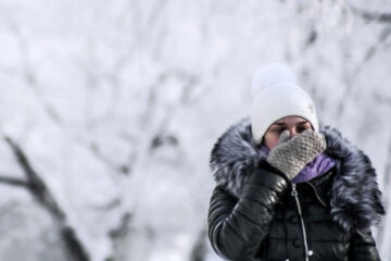 мороз, зима, холод, снег