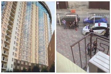 Приїхали на відпочинок: в Одесі 3-річна дитина випала з вікна висотки, кадри нещастя