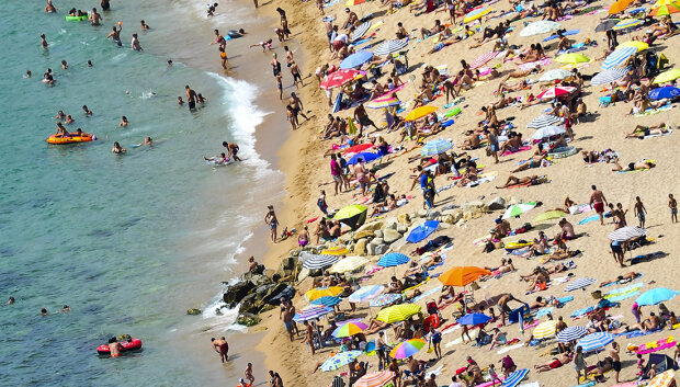 Tourists Enjoy Spain's Costa Brava As The Country Steers Towards A Full-Scale Bailout