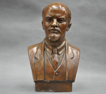 7-Советский-Лидер-Владимир-Ильич-Ульянов-Ленин-Бюст-Бронзовая-Статуя