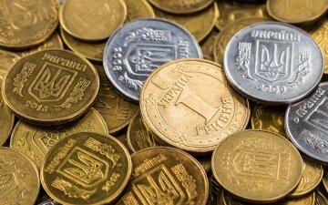 деньги, гривна, монеты