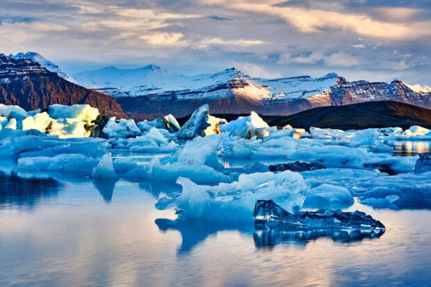 ледники в Арктике