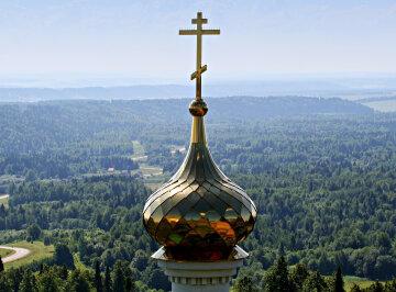 крест купол