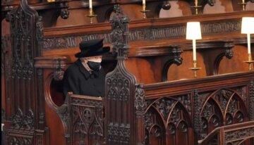 Королева Елизавета ІІ, похороны Филиппа, скрин