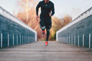 спорт, бег