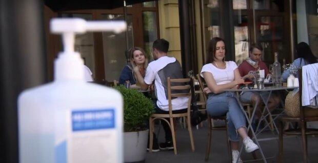 карантин люди антисептик дезинфектор кафе