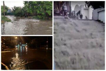 Біда обрушилася на Одещину, потужна злива затопила вулиці: кадри руйнувань