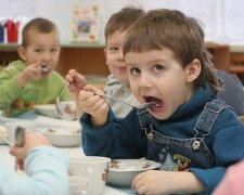 дети детсад ребенок питание едят столовая