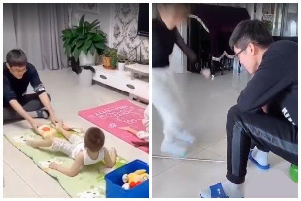 Как не сойти с ума с детьми на карантине: видео-пособие от китайцев стало хитом