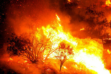 Fires Rage On In Southern California