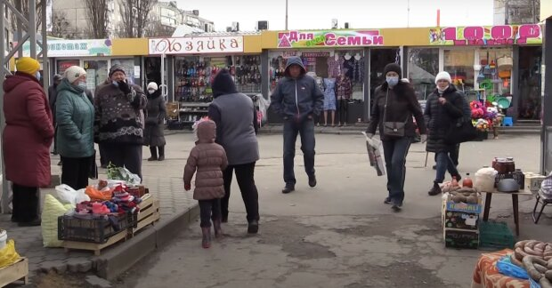 харьков, весна, улица, карантин, рынок