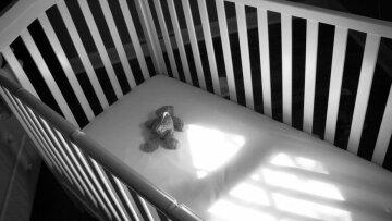 кровать, ребенок, смерть,