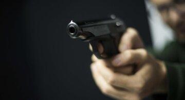 стрельба из пистолета, оружие