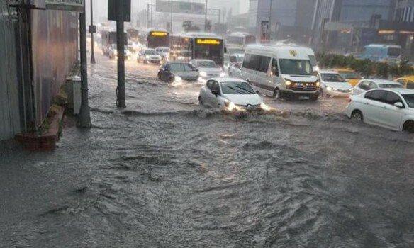 наводнение, потоп паводок