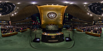 360 — Opening of the 70th General Assembly at the United Nations