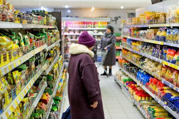 супермаркет, продукты