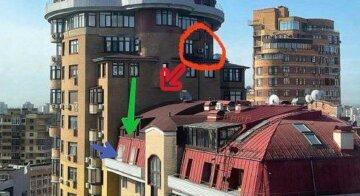 У Києві кілька днів намагалися врятувати кота на 23 поверсі: фото