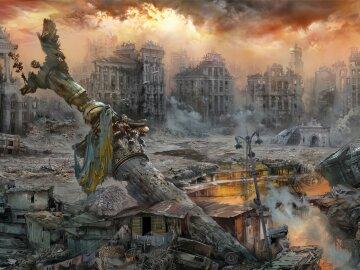 конец света, апокалипсис, армагедон, катастрофа в киеве