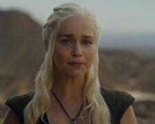эмилия кларк, мать драконов плачет, игра престолов