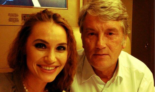 виктор ющенко с дочкой, виталина ющенко, с дочерью