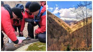 """Трагедией завершилась спасательная операция на Закарпатье, фото: """"Горы не прощают ошибок"""""""
