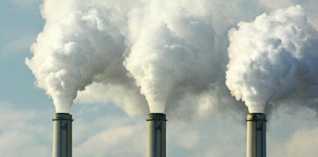 завод, выбросы, углекислый газ