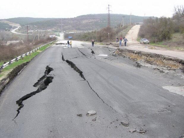 крым дорога
