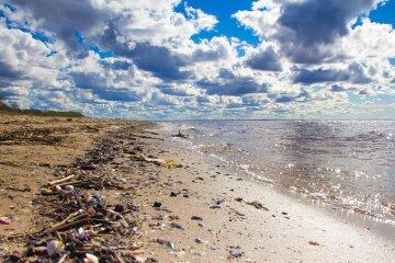 океан грязь пластик пластмасса