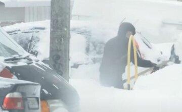 сніг, негода, погода, зима