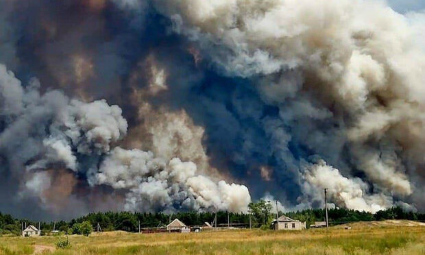 Луганщина у вогні, Шахов виїхав на місце масштабної НП і розкрив деталі: «Родини залишилися без даху над головою»