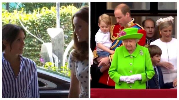 """Сварка в Королівському палаці: спливла правда про конфлікт Міддлтон і Єлизавети II, """"замішана Маркл..."""""""