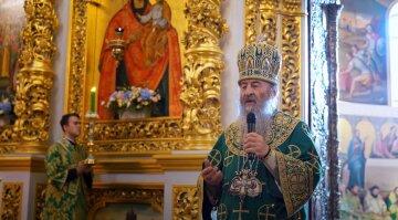 Віряни УПЦ святкують день пам'яті преподобного Феодосія Печерського у Києво-Печерській Лаврі