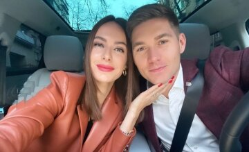 Володимир остапчук з дружиною, Христина Гірник
